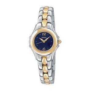 NEW Seiko Two-tone stainless steel watch SXGN10
